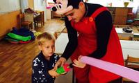 Микки маус в детском саду