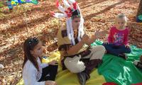 Мудрый индеец на детском празднике. Заказать. Херсон