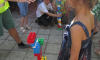 Лего конструктор на детском празднике. Кенди бар
