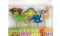 Динозавры. Свечи для торта, 5 шт. (размер 2-3 см). Цена 50 грн.