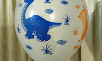 Шарики с динозавриками. Размер 14 дюйм. Цена 25 грн.