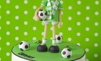 торт в футбольной тематике