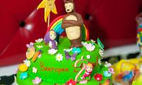 "Тематический торт ""Маша и Миша"""
