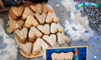 """Тематическое печенье  для кенди-бара """"Frozen"""""""