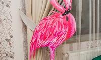 Фламинго, 2 фигуры.  Алиса в стране Чудес. Декор. Аренда. Заказать. Затейник. Херсон. Николаев.