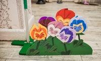 """Тематический декор """"Цветочки"""". Алиса в стране Чудес. Заказать. Затейник. Херсон. Николаев."""