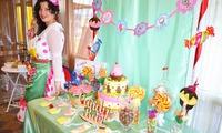 тематической оформление праздника для сладкого праздника