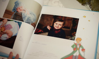 Книга пожеланий для Маленького принца Яна.