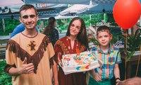 Восьмой день рождения Ромы с индейцами. Праздник для подростков