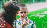 Грим для юных индейцев, праздник для мальчика