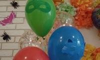 Гелиевые шары. Продажа. Оформление шарами. Герои в масках
