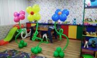 Цветы из гелиевых шаров. Оформление шарами, Херсон