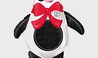 """Ходячая фигура """"Панда""""   Фольга: Высота 94 см.   Полет с гелием: 2 недели.  Цена: 200 грн."""
