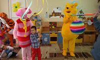 Винни Пух и Пятачок в детском саду