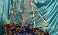 Корабль_Морское путешествие. Цена 250 грн.