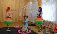 шоу мыльных пузырей в Николаеве