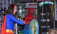 Человек паук и Супер девчонка